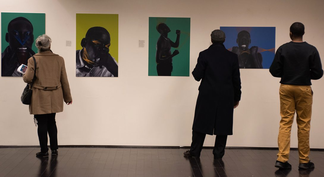 Reimagining Black Masculinity exhibit