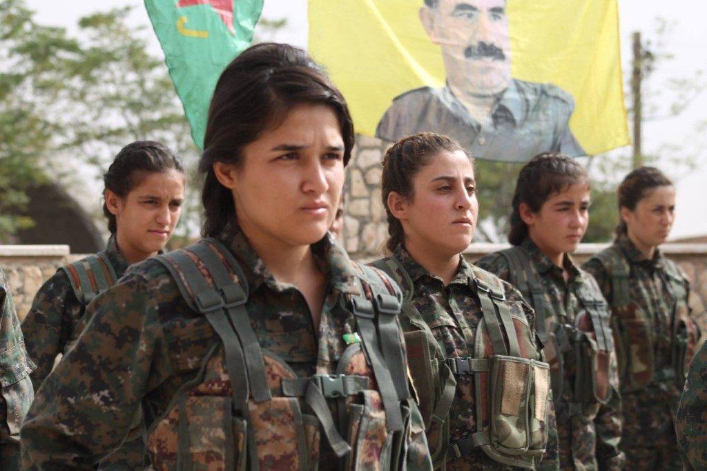 Rojava women