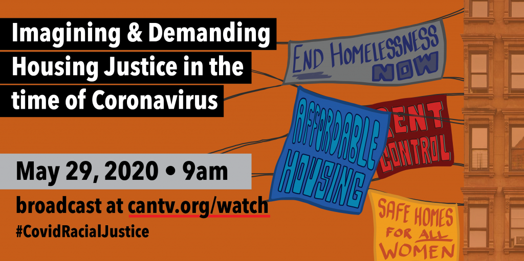 Housing Justice in the time of Coronavirus