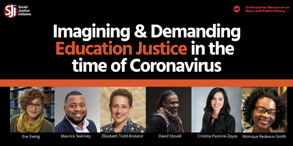 Education Justice Event Flyer