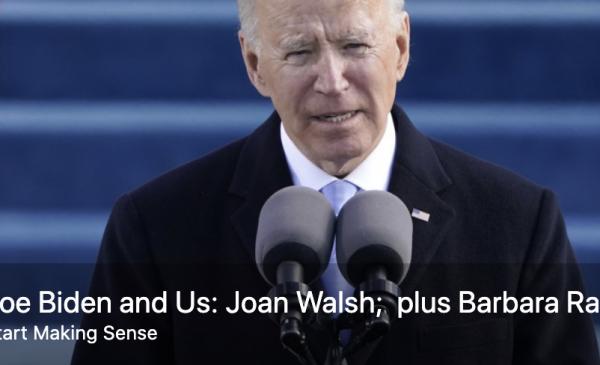 Joe Biden and wife walking