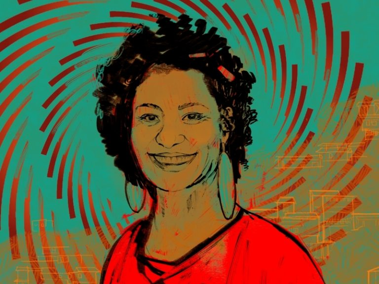image of activist Marielle Franco
